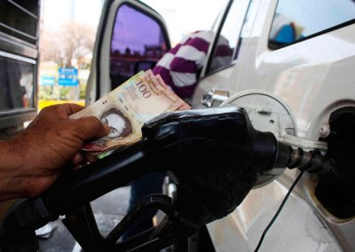 Venezuela pierde cada año 1.500 millones de dólares por subsidio a la gasolina