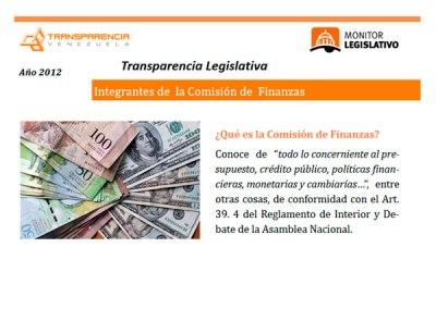 Diputado Ricardo Sanguino preside la comisión de Finanzas