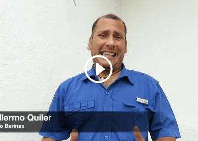 Para Guillermo Quiler lo peor del racionamiento eléctrico es no saber a qué hora habrá cortes