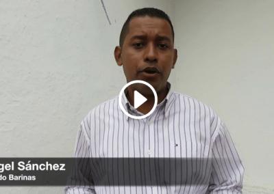 Ángel Sánchez relata cómo su calidad de vida ha disminuido con los cortes de luz en Barinas