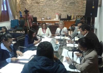 Comisión Mixta que trabaja Ley de Transparencia realizó segunda sesión