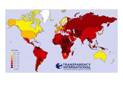 Índice de Percepción de la Corrupción (IPC): 2008