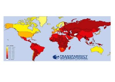Índice de Percepción de la Corrupción (IPC): 2006