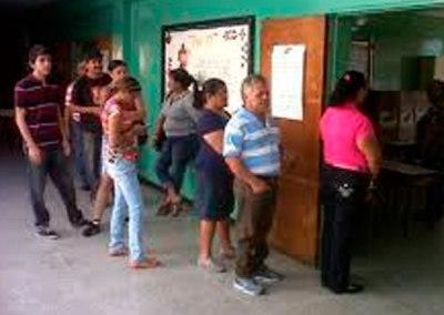 Ausencia de miembros de mesa retrasó apertura de centros de votación