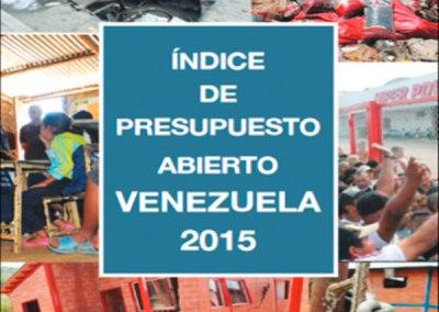 """Venezuela """"raspó"""" el Índice de Presupuesto Abierto 2015"""