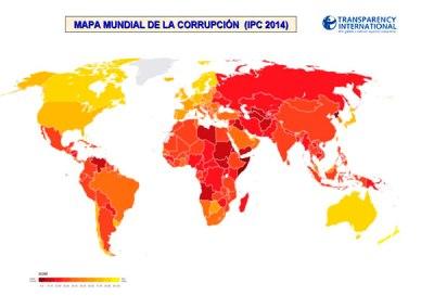 Índice de Percepción de la Corrupción (IPC): 2014