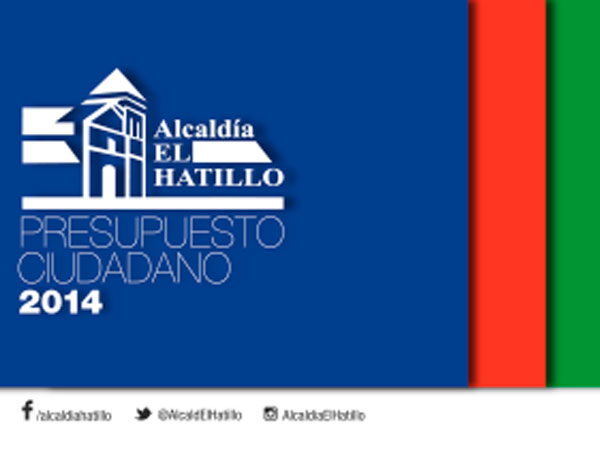 Presupuesto ciudadano 2014: Alcaldía El Hatillo