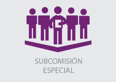 Subcomisión Especial Encargada de Elaborar una Propuesta de Programa Económico Consensuado para Superar la Crisis Económica y Social.