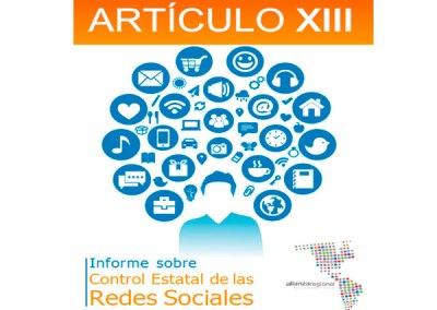 Control Estatal de las Redes Sociales