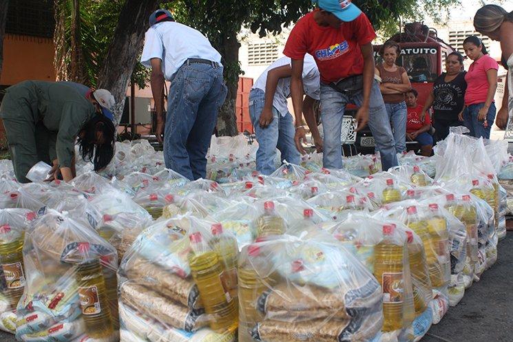 Mototaxistas exigen la bolsa CLAP para asistir a actos políticos del PSUV