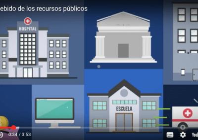VIDEO: El uso indebido de los recursos públicos es delito