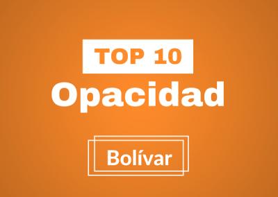Participa en nuestro Top 10 Opacidad Bolívar