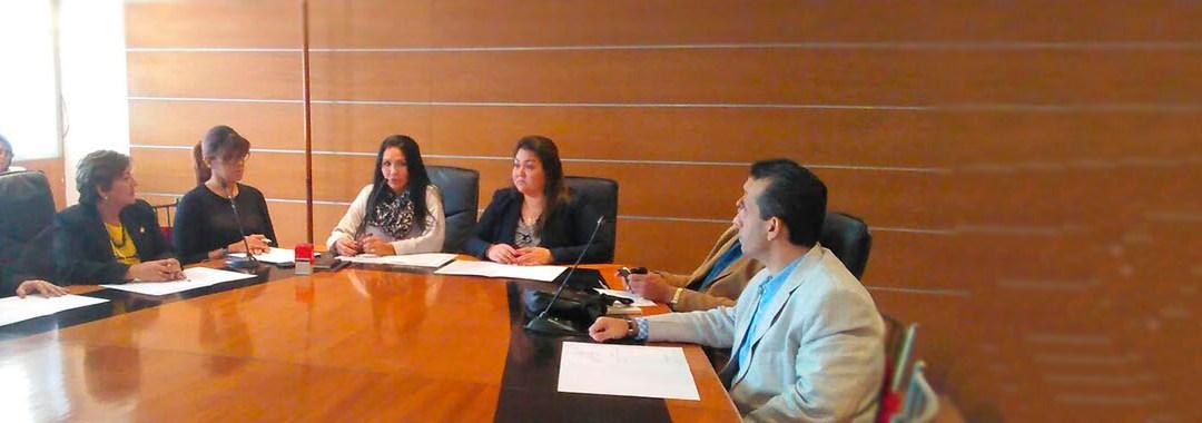 Diputada Melva Paredes asume presidencia de la Comisión de Administración y Servicios