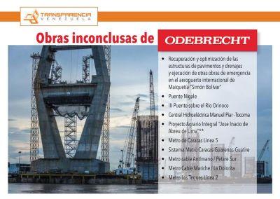 El Gobierno debe reasignar las obras de Odebrecht mediante contrataciones públicas transparentes