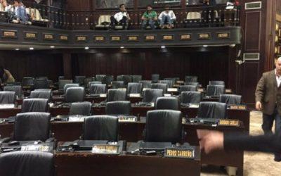 Diputados de la fracción chavista llevan un mes sin participar en la AN