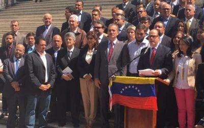 Asamblea Nacional pide a las FANB cese de represión en manifestaciones