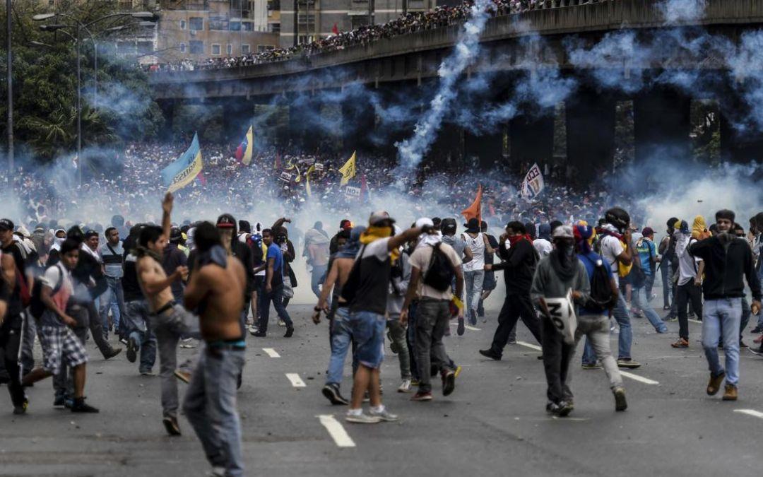 CIDH urge a la protección al derecho a protestas en Venezuela y el respeto a la libertad de expresión