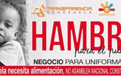 Venezuela necesita alimentación, no Asamblea Nacional Constituyente