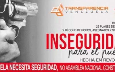 Venezuela necesita seguridad, no Asamblea Nacional Constituyente