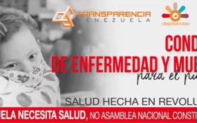 Venezuela necesita salud, no Asamblea Nacional Constituyente