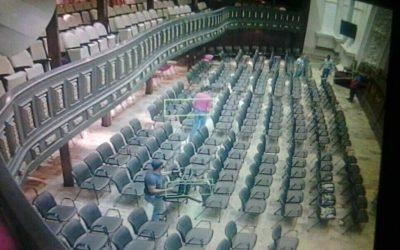 Parlamento denuncia asalto del hemiciclo protocolar de sesiones