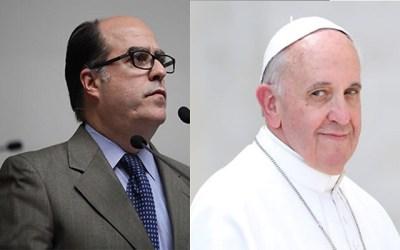 AN solicita intercesión del Papa ante apertura de canal humanitario en Venezuela