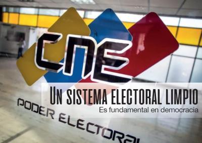 Corrupción en el Consejo Nacional Electoral 2017