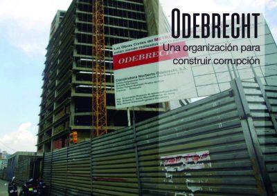 Odebrecht una organización para construir corrupción