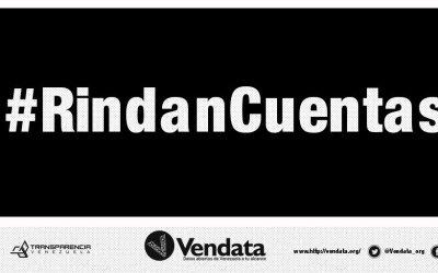 Vendata inicia campaña para solicitar rendición de cuentas a entes públicos