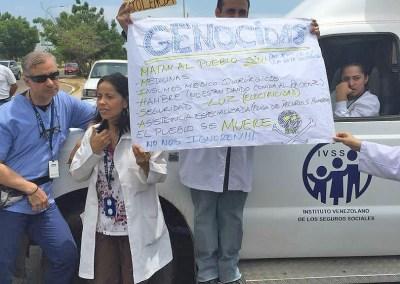 Gobernación de Zulia criminaliza protestas de médicos y trabajadores de la salud