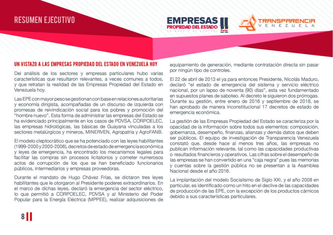 EPE II - Resumen ejecutivo, Transparencia Venezuela_Página_08