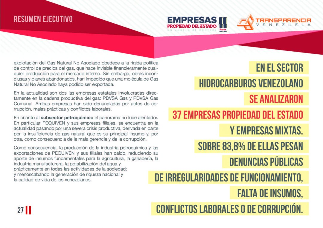 EPE II - Resumen ejecutivo, Transparencia Venezuela_Página_27
