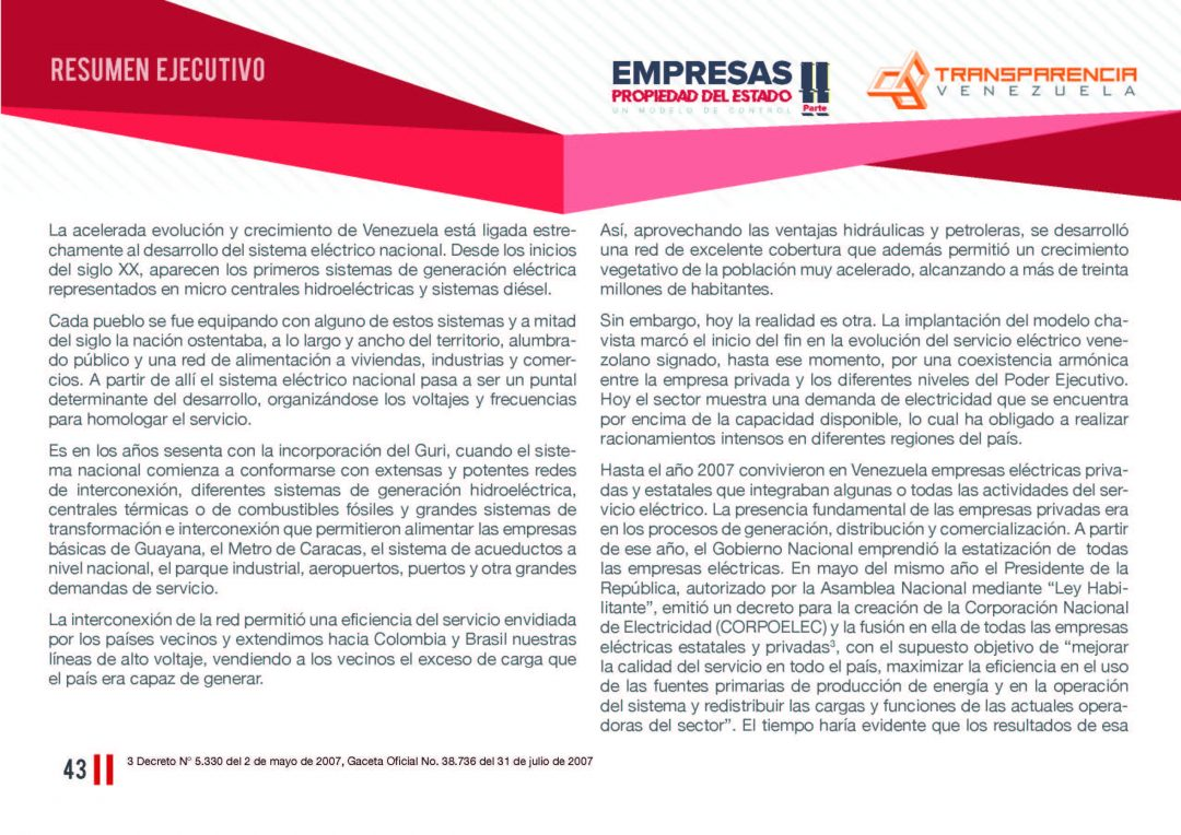 EPE II - Resumen ejecutivo, Transparencia Venezuela_Página_43