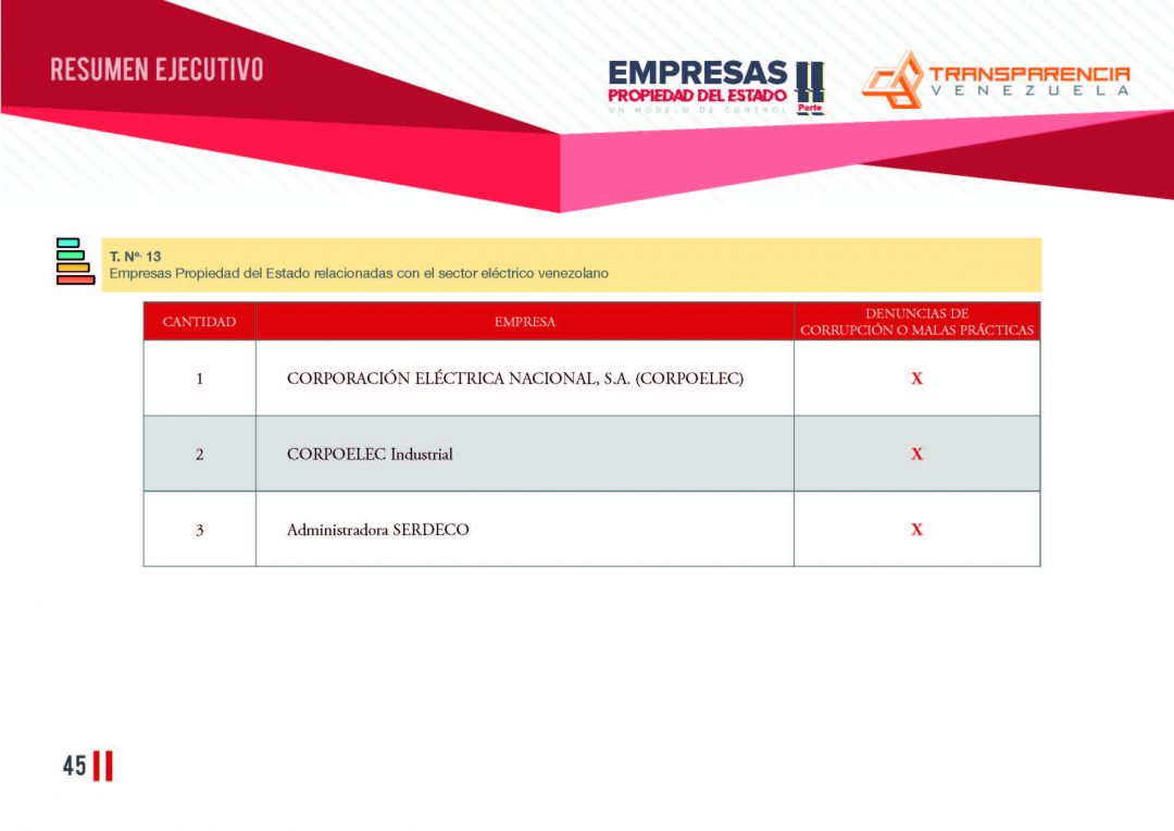 EPE II - Resumen ejecutivo, Transparencia Venezuela_Página_45
