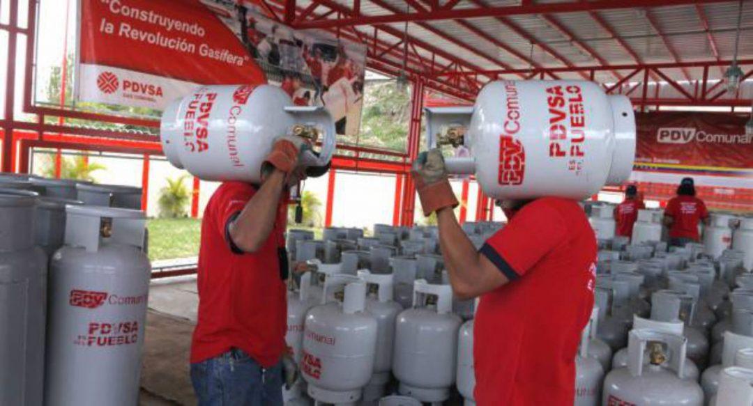 FOTO. GAS Cortesía Correo del Orinoco. Planta de Chirica