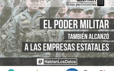 The military power also reached the state enterprises