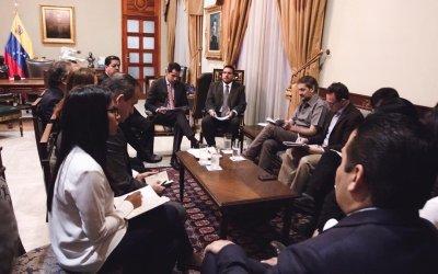 Representantes de la AN se reunieron por dos horas con comisión de Bachelet