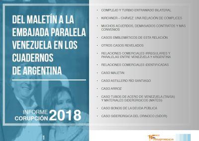 Del maletín a la Embajada paralela: Venezuela en los Cuadernos de Argentina