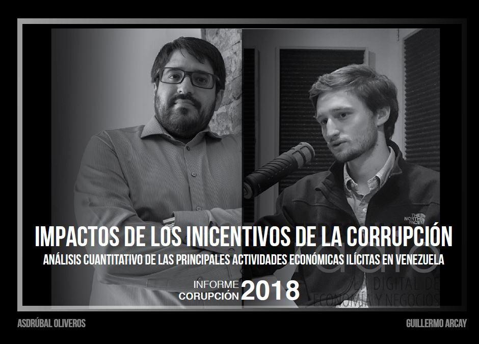 Impactos de los incentivos de la corrupción: análisis cuantitativos de las principales actividades económicas ilícitas en Venezuela