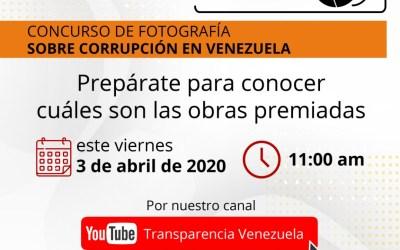 Transparencia Venezuela premia fotografías que abordan la corrupción