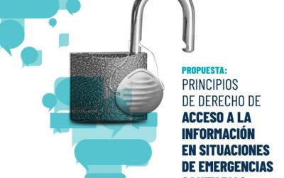 Propuesta: Principios de derecho de acceso a la información en situación de emergencias sanitarias