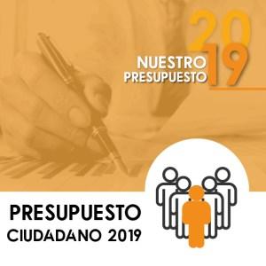 Presupuesto ciudadano 2019