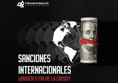 Sanciones internacionales