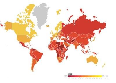 Informe – Índice de percepcion de la corrupción 2020