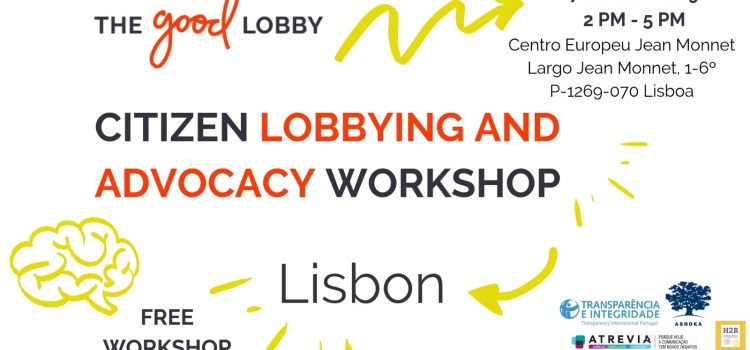 "Workshop ""Citizen Lobbying and Advocacy"""