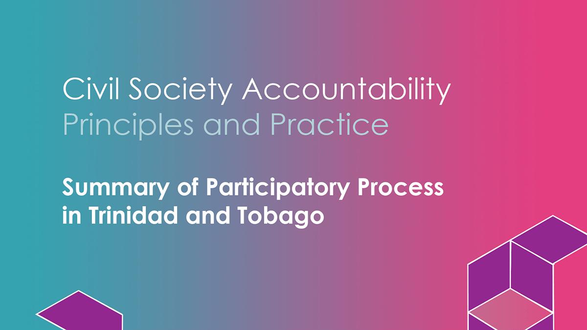 Civil Society Accountability Summary