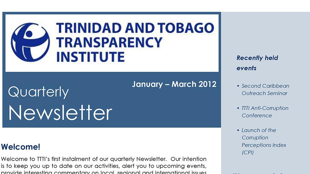 TTTI Newsletter Mar 2012