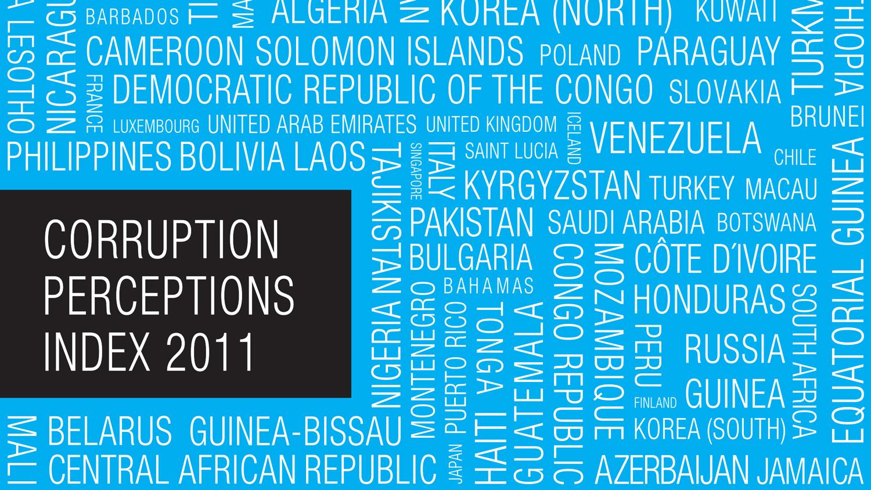 2011 Corruption Perceptions Index