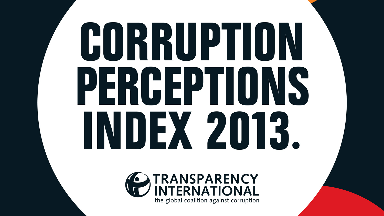 2013 Corruption Perceptions Index