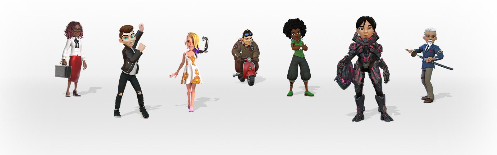 XBOX ONE X Brings All New Avatars